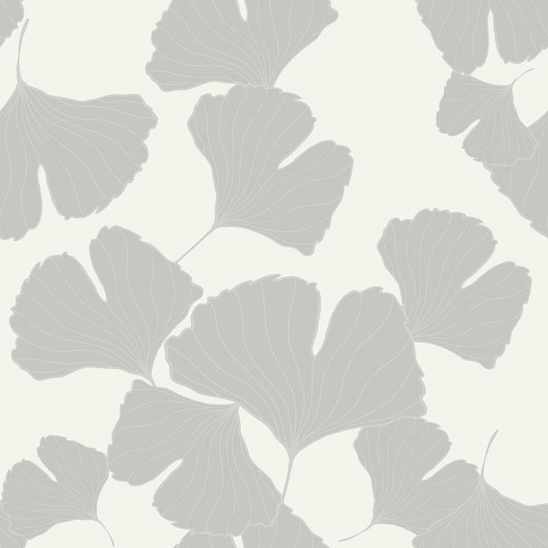 Papel pintado claveles blanco y plata matkawalls for Papel pintado en blanco y plata