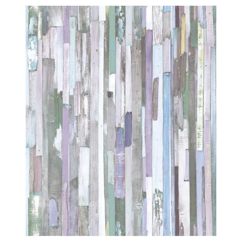 Papel pintado tablones de madera morado matkawalls - Papel pintado morado ...