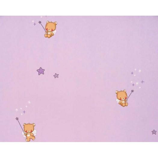 Papel pintado osos morado matkawalls - Papel pintado morado ...