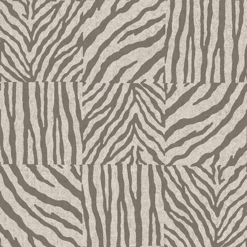 Papel pintado cebra gris matkawalls for Papel pintado cebra