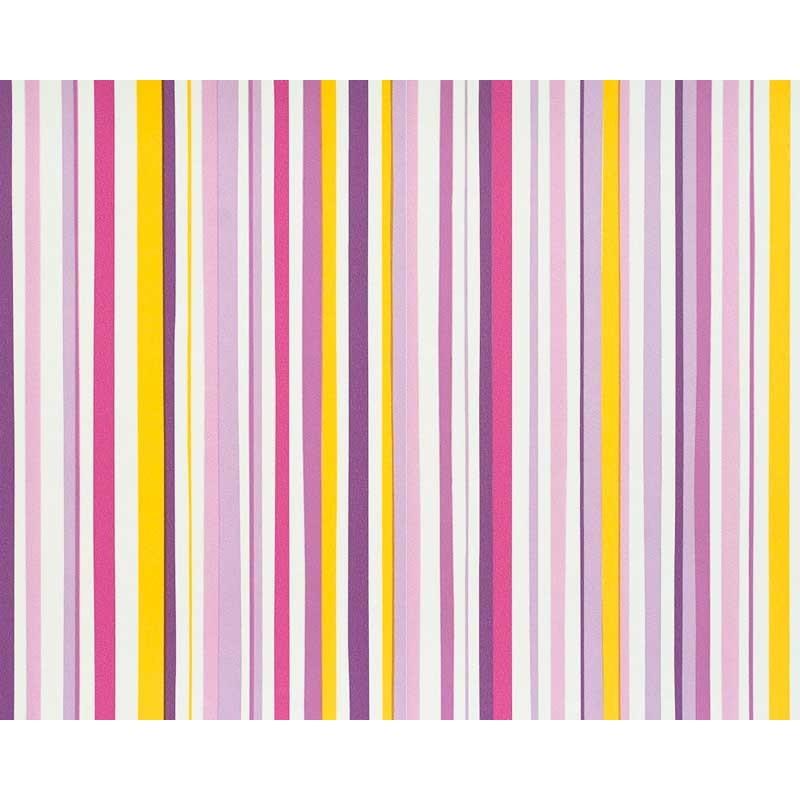Papel pintado rayas multicolor morado y amarillo matkawalls - Papel pintado morado ...