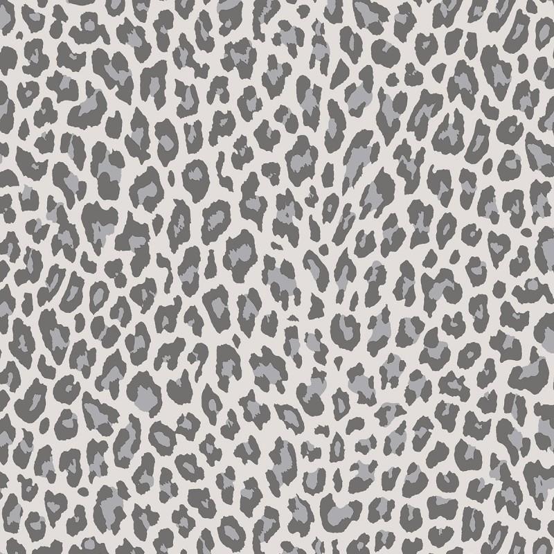 Papel pintado leopardo gris matkawalls - Ka internacional papel pintado ...