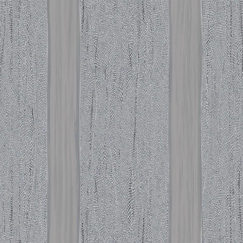 Papel pintado raya y serpiente azul y gris matkawalls - Papel pintado rayas gris y blanco ...