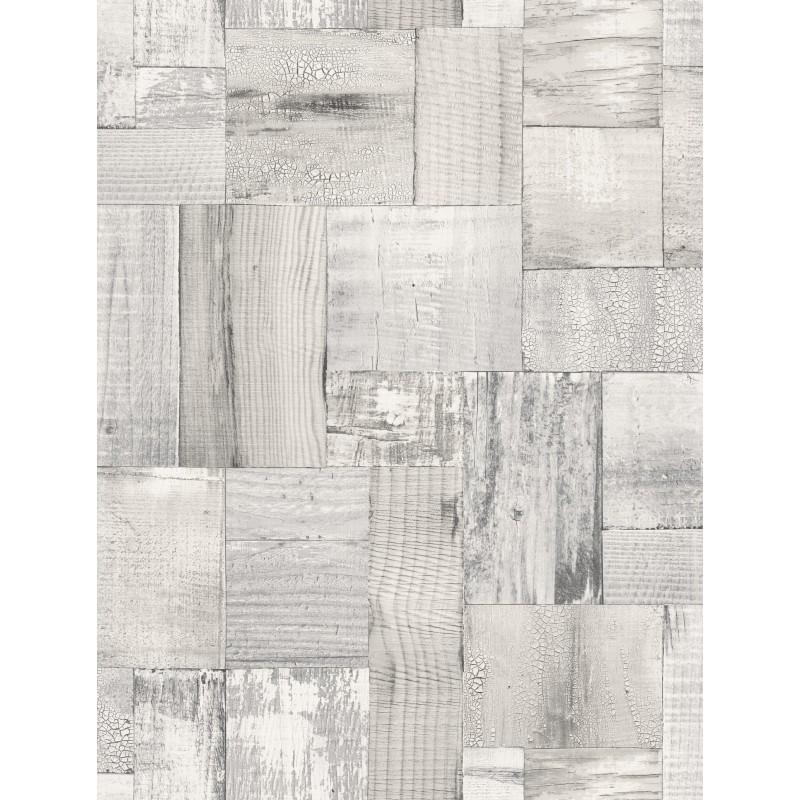 Papel pintado madera blanco matkawalls for Papel pintado ka internacional