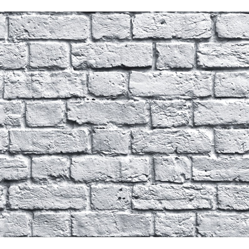 Papel pintado ladrillo blanco matkawalls - Papel pintado ladrillo blanco ...