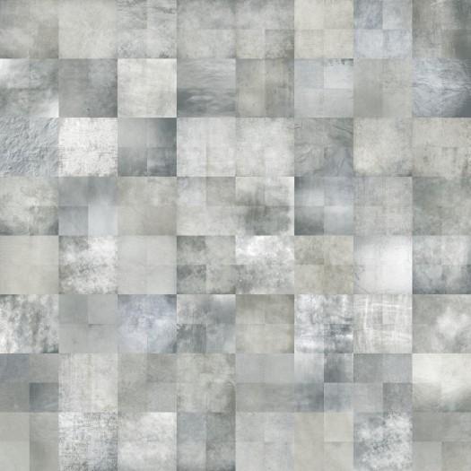 Papel pintado cuadritos gris matkawalls - Papel pintado gris ...