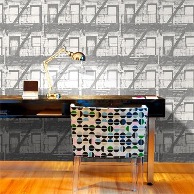Papeles pintados modernos y vintage for Papeles pintados modernos pared