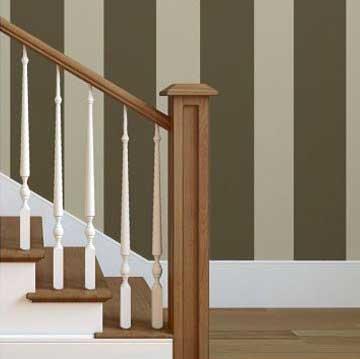 Decorar las paredes de tu hogar con papeles pintados a rayas - Papeles para la pared ...