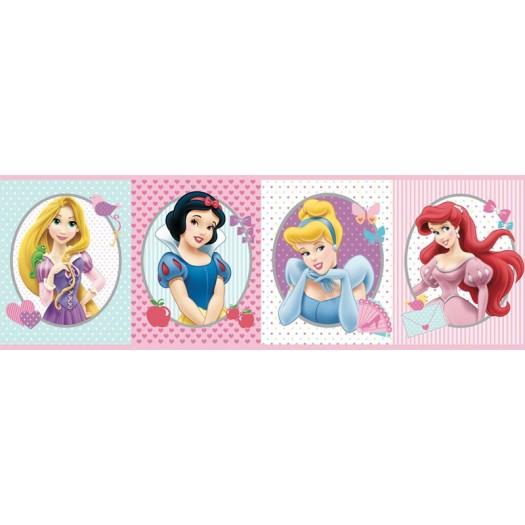 CENEFA Princesas Disney flores 16 cm x 5 m
