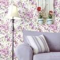 PAPEL PINTADO Flores modernas Rosa