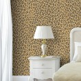 PAPEL PINTADO Leopardo Marrón