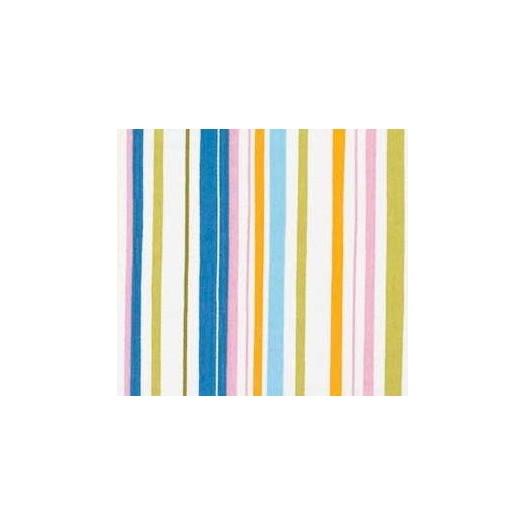 TELA Rayas multicolor Verde, Azul y Amarillo