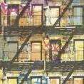 PAPEL PINTADO Grafiti Multicolor Fluor