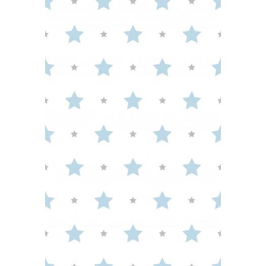 PAPEL PINTADO Estrellas Azul