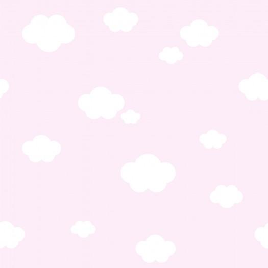PAPEL PINTADO Nubes Rosa