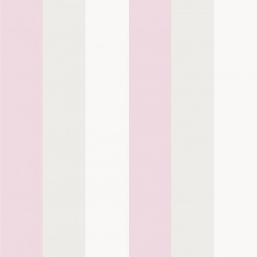 PAPEL PINTADO Stripe Lisa Rosa