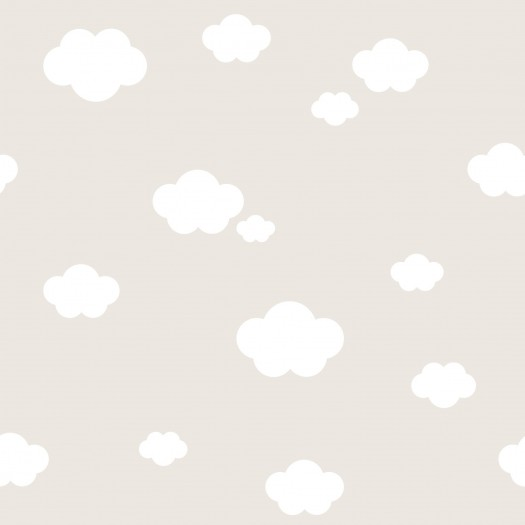 PAPEL PINTADO Nubes Beige