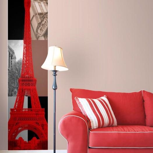 PANORÁMICA A_Torre Eiffel 250x60 cms