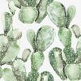PAPEL PINTADO Cactus Verde