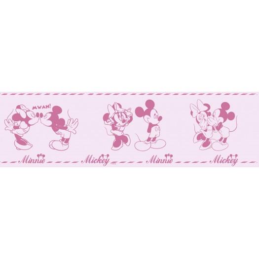 CENEFA Mickey & Minnie ROSA 16cm x 5 m