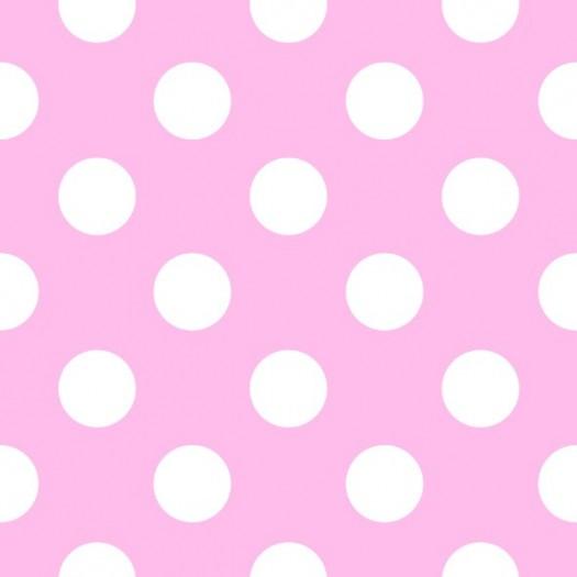 Papel Pintado Infantil Minnie Mota Rosa