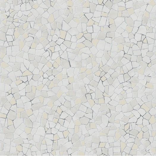 PAPEL PINTADO Mosaico Beige-gris