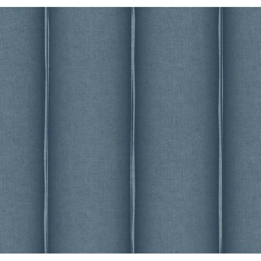 PAPEL PINTADO Fibra Raya Azul oscuro