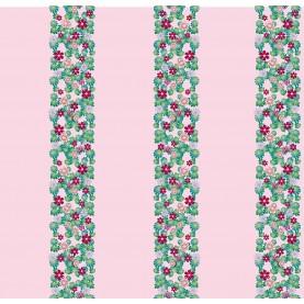 PAPEL PINTADO Twetty Columna Flores Amarillo