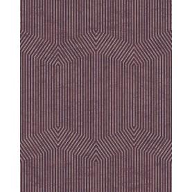 PAPEL PINTADO Diseño en zig-zag Terracota