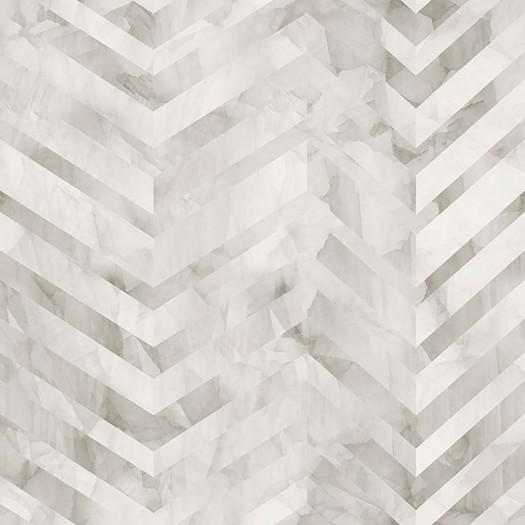 PAPEL PINTADO Diseño efecto mármol en ángulos beige