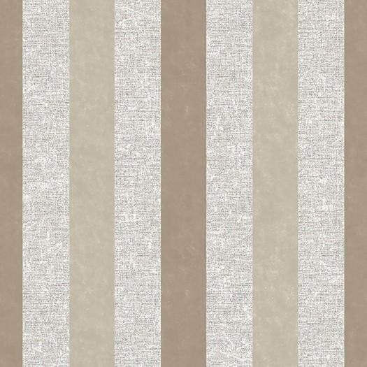 PAPEL PINTADO Rayas con efecto textil y terciopelo dorado