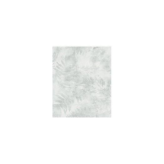 PAPEL PINTADO Frondosidad de hojas de helecho pintadas verde, claro
