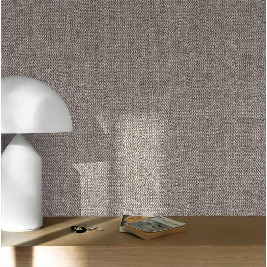 PAPEL PINTADO Textura Textil Espiga beige