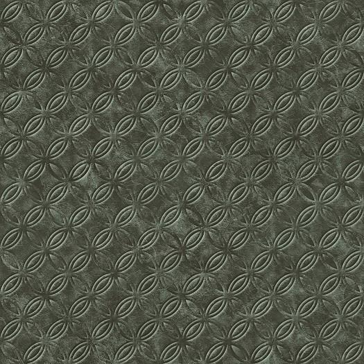 PAPEL PINTADO Geométrico círculos verde