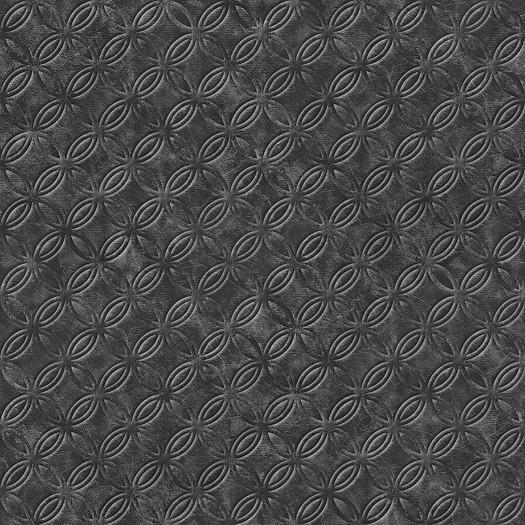 PAPEL PINTADO Geométrico círculos negro