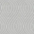 PAPEL PINTADO Geométrico ondas gris