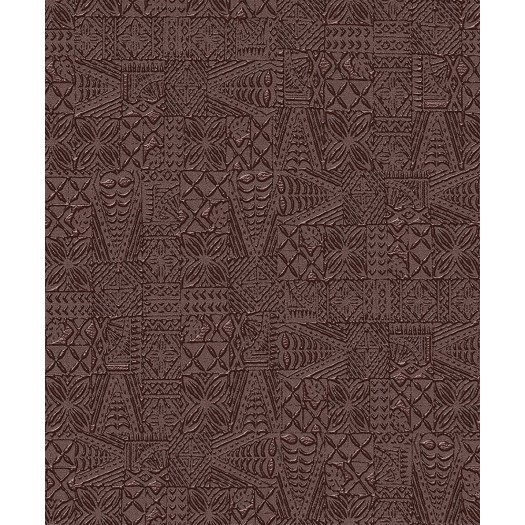 PAPEL PINTADO Efecto relieve grabado terracota