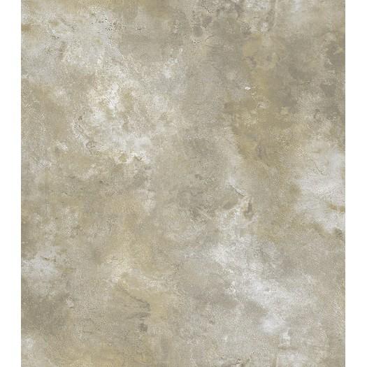 PAPEL PINTADO Textura metalizado desgastado gris, oro