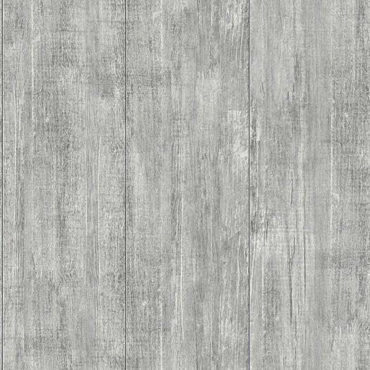 PAPEL PINTADO Tablas de madera gris claro