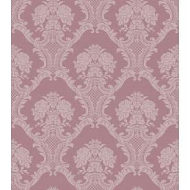 PAPEL PINTADO Damasco textil en dos tonos seda burdeos