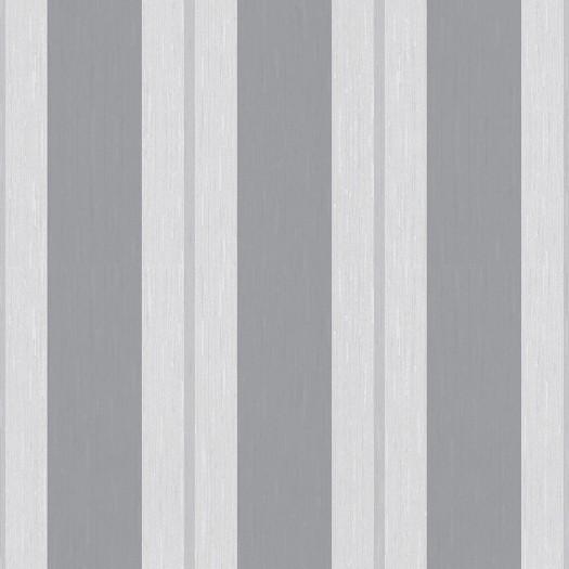 PAPEL PINTADO Rayas textura seda gris