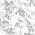 PAPEL PINTADO Hojas y ramas en blur gris