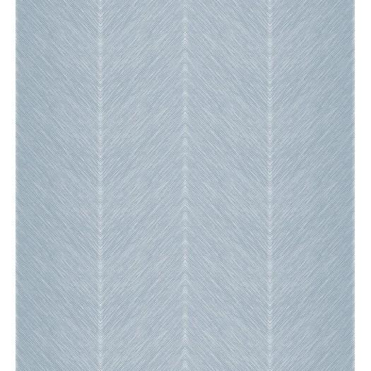 PAPEL PINTADO Diseño en zig-zag azul