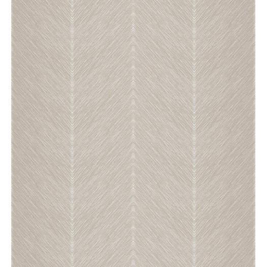PAPEL PINTADO Diseño en zig-zag beige