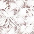 PAPEL PINTADO Diseño en rombos Terracota