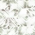 PAPEL PINTADO Diseño en rombos verde