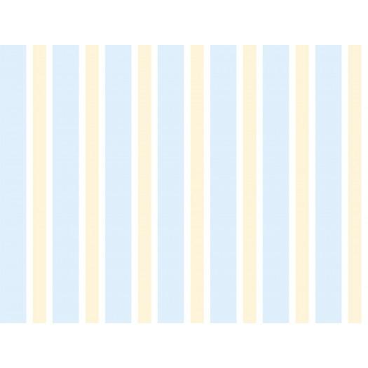 PAPEL PINTADO Raya ancha bicolor Gris y azul
