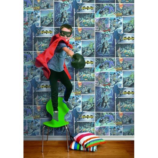 PAPEL PINTADO Comic Batman Multicolor