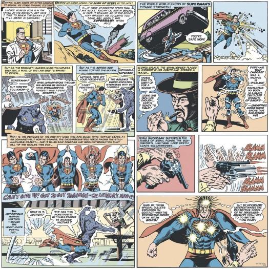 PAPEL PINTADO Comic Superman Classic Multicolor