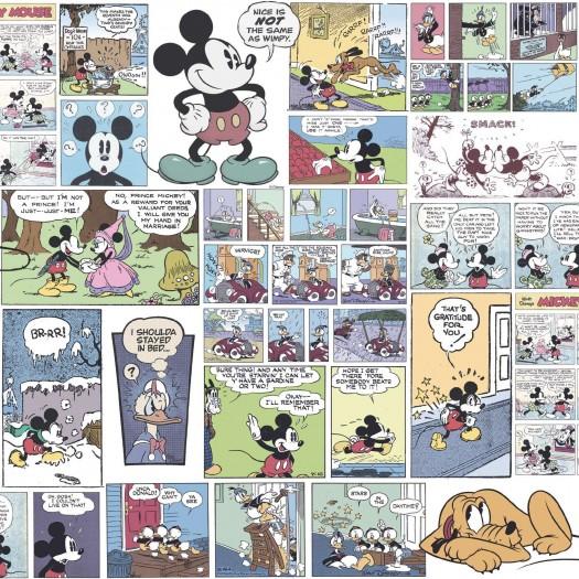 PAPEL PINTADO Comic Mickey Classic Multicolor